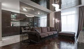 Санкт-Петербург, квартира в жилом комплексе «Новелла». Фотографии реализованного проекта