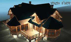 Проект наружного освещения дома в Орехово