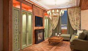 Проект интерьера частной квартиры в жилом комплексе «Леонтьевский Мыс».