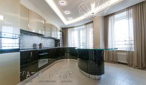 Санкт-Петербург, квартира в жилом комплексе «Парадный Квартал». Фотографии реализованного проекта.